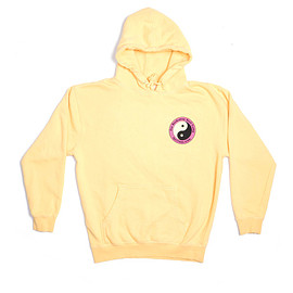 Call Me 917 - SURF CAMP HOODED SWEATSHIRT YELLOW
