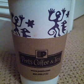 Peet's coffee - peet's coffee paper cup, Barkeley CA