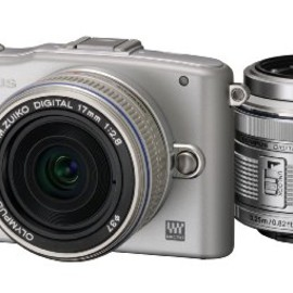 OLYMPUS - PEN mini E-PM1 (Silver)