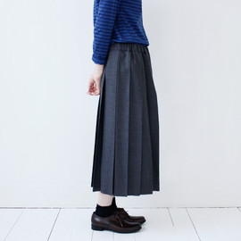 Charpentier de Vaisseau - Wool Pleated Skirts