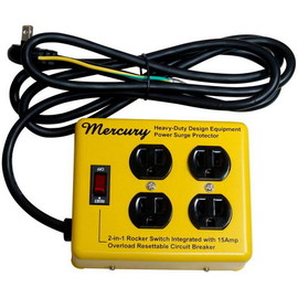 MERCURY - MERCURY 4 OUTLET STEEL CASE~MUSTARD~