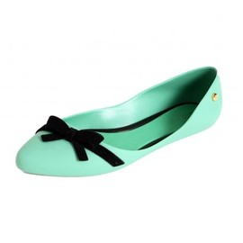 melissa - メリッサ【melissa】TRIPPY GREEN/BLACK BOW