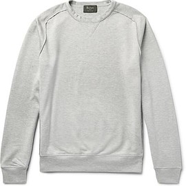 Berluti - Loopback Cotton and Silk-Blend Jersey Sweatshirt