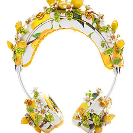 DOLCE&GABBANA - Lemon Floral Headphones