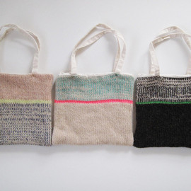eccomin knit, - MINI BAGS