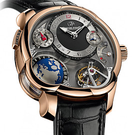 Greubel Forsey - GMT 5N red gold Anthracite dial
