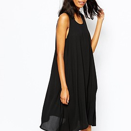 monki - Image 1 of Monki Hanky Hem Dress