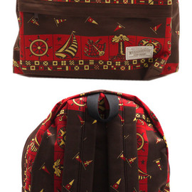 NEIGHBORHOOD - PACKER.BANDANA/C-BACKPACK(バックパック)BROWN276-000192-000-【新品】【smtb-TD】【yokohama】