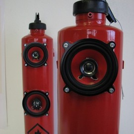 Fire Extinguisher Speakers