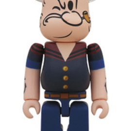 MEDICOM TOY - BE@RBRICK DRX NAVY POPEYE THE SAILORMAN100%