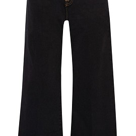J Brand - Liza cropped mid-rise wide-leg jeans