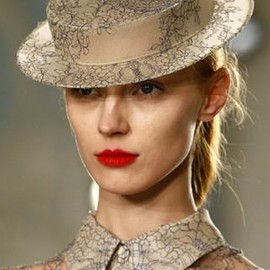 Erdem  - AW2012 Matching Hat and Shirt