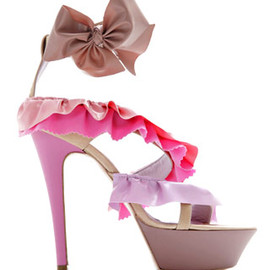 Viktor&Rolf - Ruffled platform sandals