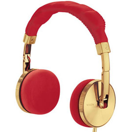 nixon - Headphone NOMADIC NH00514 Gold/Red