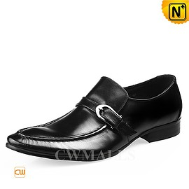 cwmalls - CWMALLS Monk Strap Loafer Shoes CW716235