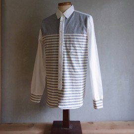 DISCOVERED - Panel Border Shirts