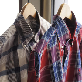 Bohemians - MEDIUM CHECK B.D L/S SHIRT