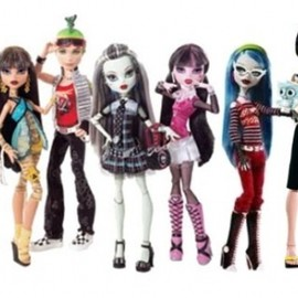 mattel - monster high dolls