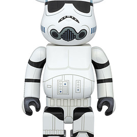 MEDICOM TOY - BE@RBRICK STORMTROOPER(TM) CHROME Ver.400%