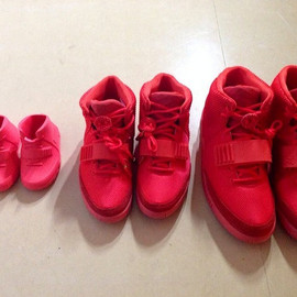 Nike - Air Yeezy 2 - Red October (PS & GS?)