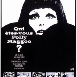 "William Klein - ""Qui êtes-vous, Polly Maggoo?"" Movie Poster, 1966"