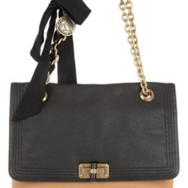 LANVIN - Medium leather shoulder bag