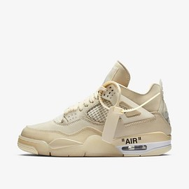 Nike - Air Jordan 4 x Off-White™️ 'Sail'