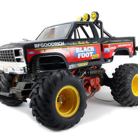 TAMIYA -  1/10 RC BLACK FOOT FORD F150 RANGER 1986