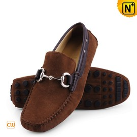 CWMALLS - Mens Black/Brown Leather Loafers CW709098 - cwmalls.com