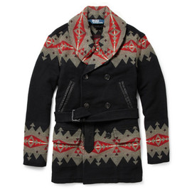 Polo Ralph Lauren - Native American Patterned Wool-Blend Coat