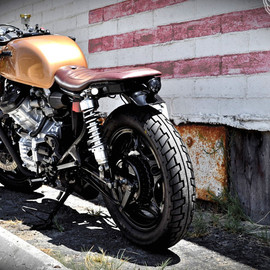 Honda - CX500 streetfighter by justin