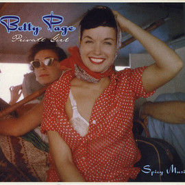 V.A. - BETTY PAGE: Private Girl Spicy Music