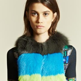Peter Pilotto - Fox Fur Collar