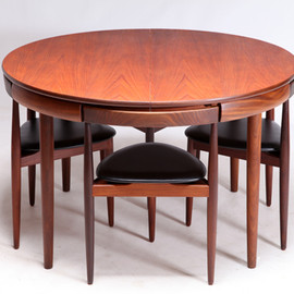 Frem Røjle - Dining Set by Hans Olsen