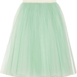 D&G - Layered tulle midi skirt