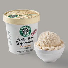 Starbucks Coffee - Vanilla Bean Frappuccino® Ice Cream