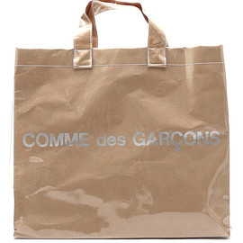 COMMEdesGARCONS - COMMEdesGARCONS(コムデギャルソン)SHOPPERTOTEBAG(トートバッグ)BEIGExCLEAR277-002098-010x【新品】