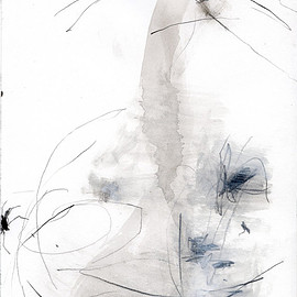 Miwha Han - title unknown, 2013, mixed media on paper