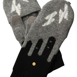 MARC BY MARC JACOBS - 2013AW Idle Wild Pop Top Mittens