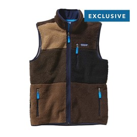 Patagonia - MEN'S PATCHWORK RETRO-X™ FLEECE VEST BLACK OAK