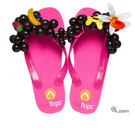 hotflops - pink/black grapes