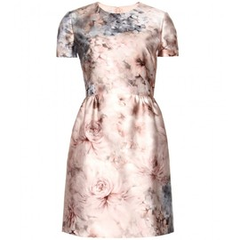 VALENTINO - SECRET GARDEN FLORAL-PRINT DRESS