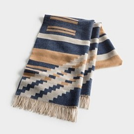 PENDLETON PORTLAND COLLECTION - Pinyon Stripe Fringed Scarf
