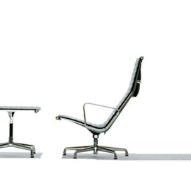 Herman Miller - Eames Aluminum Group Lounge Chair and Ottoman