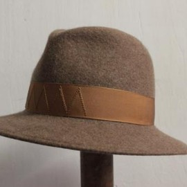TAKAHIROMIYASHITA The SoloIst. - crusher hat. -lt.brown×lt.brown-