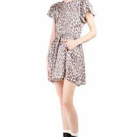 Chloe Sevigny for Opening Ceremony - Leopard Print Sophie Puff-Sleeve Dress