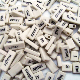 Urban Homesteaders  - 144 Piece Wonderful Word Beads
