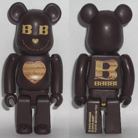 BABBI × MEDICOM TOY - '10 VALENTINE BE@RBRICK 100%