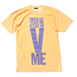 HOUSE OF HOLLAND - TOUCH ME TEASE ME PLEASE ME V ME Tshirt