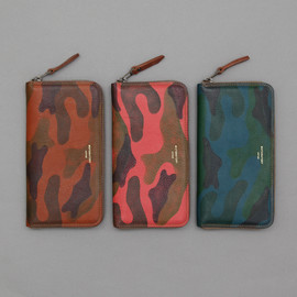 MOTORATORY - Zip Long Wallet - Camo